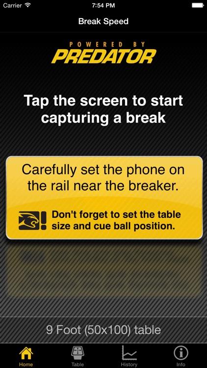 Break Speed