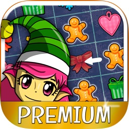 Elf's christmas candies smash – Educational game for kids from 5 years old - Premium