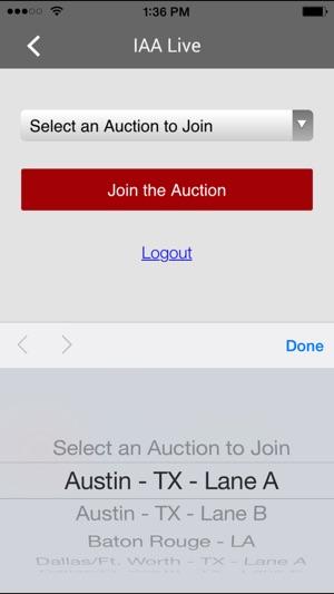 iaa audio live auction buyer salvage on the app store