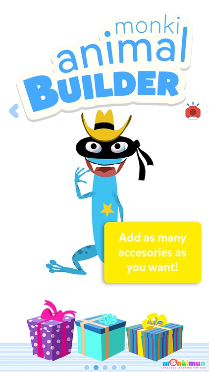 Monki Animal Builder - Language Learning for Kids and Toddlers screenshot-1