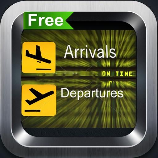 iFlightBoard Free-- статус вылета и прибытия в реальном времени