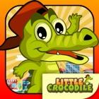 Little Happy Crocodile Run icon