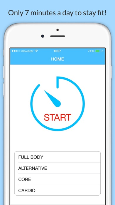 download 7 Minute Fitness - HIIT Workout Daily Challenge apps 0