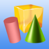Math Geometry: Learning 2D and 3D Shapes
