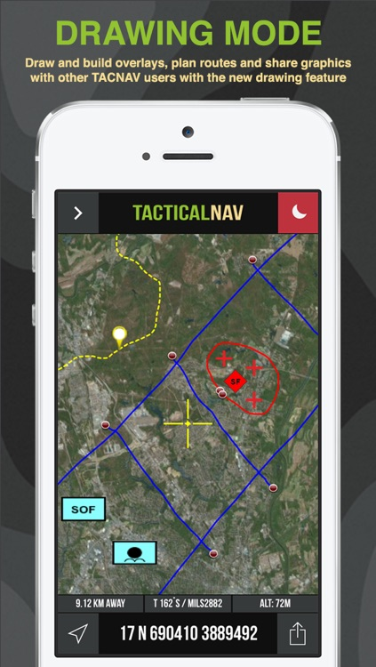Tactical NAV - GPS Navigation App For Military and First Responders