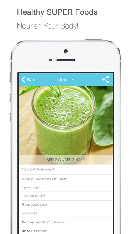 FREE! WeightLoss Smoothies for Detox, Nutrition, Anti-Oxidant, HealthyLiving, Low-Calorie Food and Fitness! screenshot-4