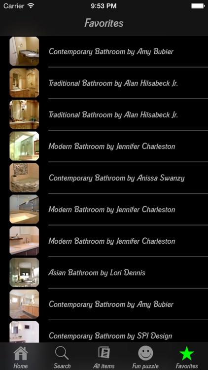 Bathroom Design HD screenshot-4