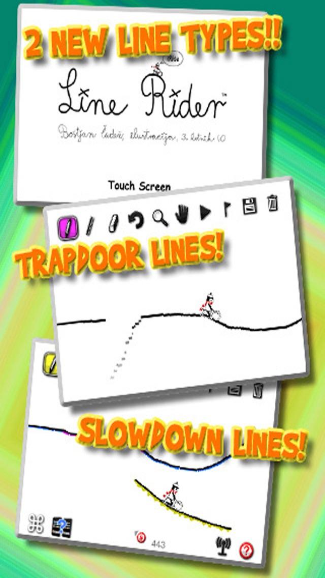 Line Rider iRide™ screenshot one