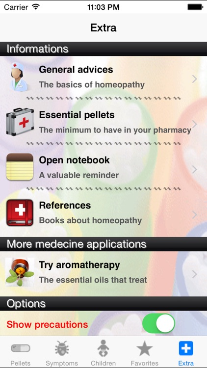 Homeopathy guide special children, infants, and pregnant women screenshot-4