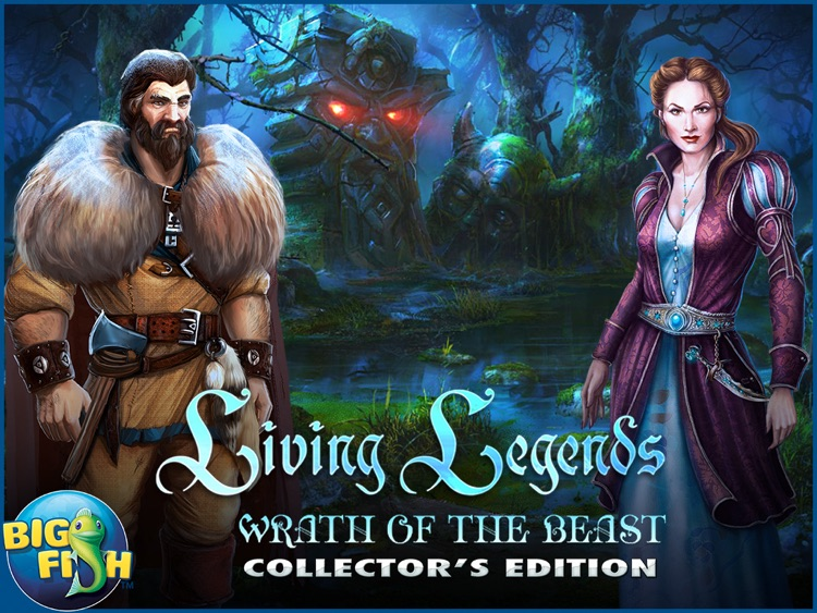 Living Legends: Wrath of the Beast HD - A Magical Hidden Object Adventure screenshot-4
