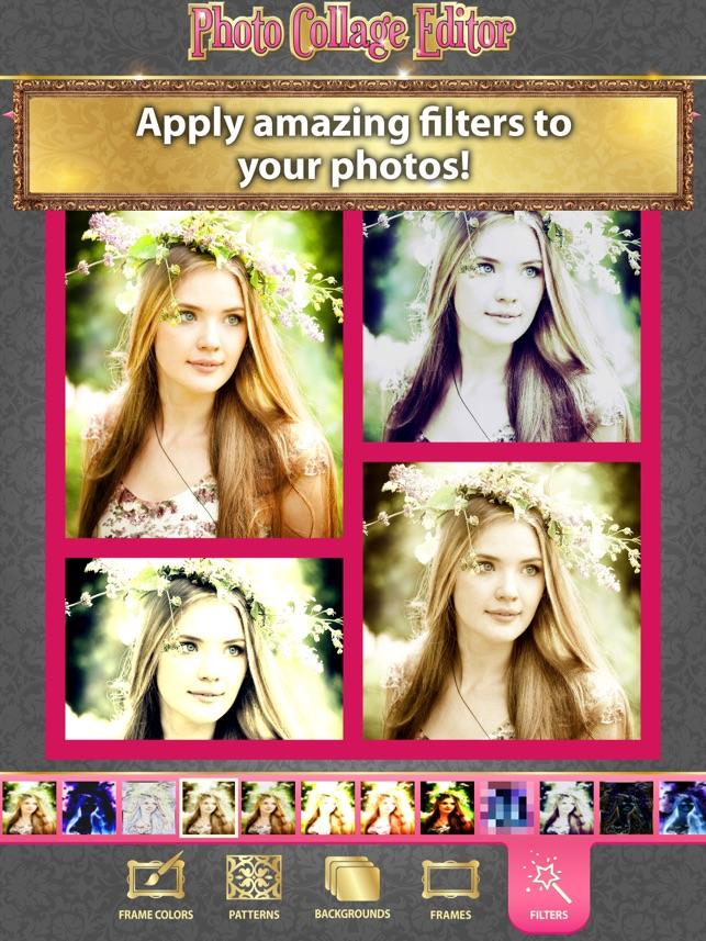 Foto-Collagen-Editor - Retusche & Collagen Bilder in Nette Raster ...