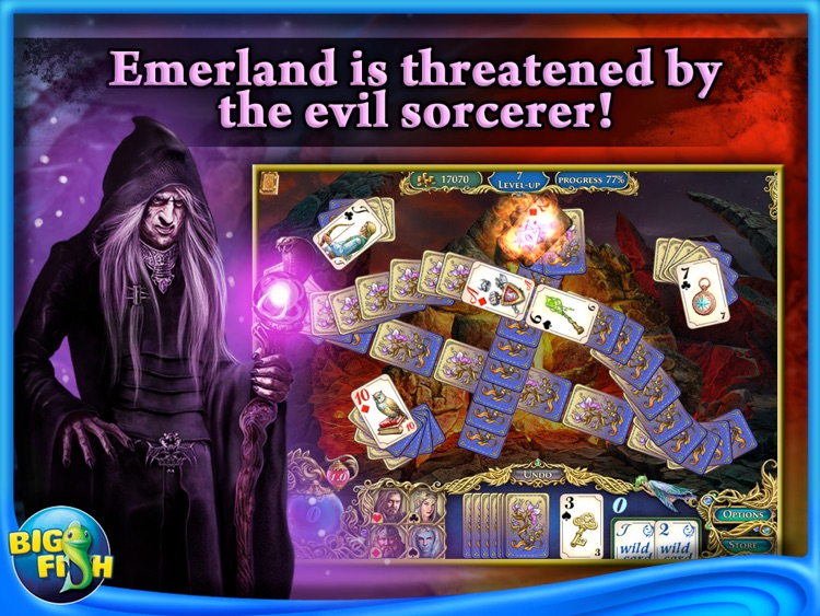 The Chronicles of Emerland Solitaire HD - A Magical Card Game Adventure