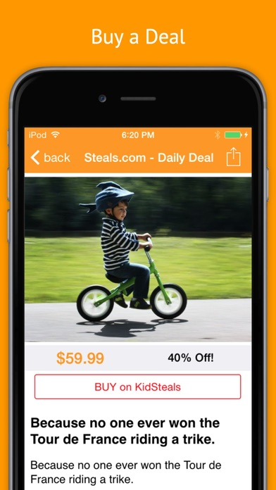 Deal Drop: The Best App for Online & Local Daily Deals app image