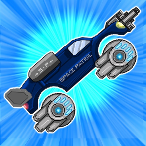 Retro Shooting Monster Truck In Space Racing Game Pro Full Version