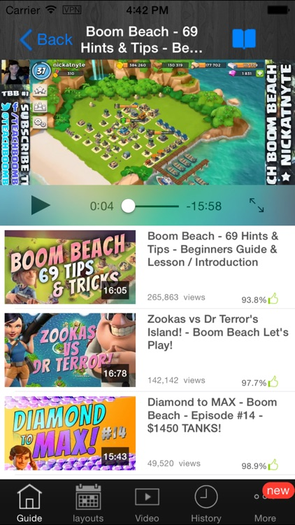 Guide for Boom Beach-Tips,Tactics,Video and Strategies!!! screenshot-3