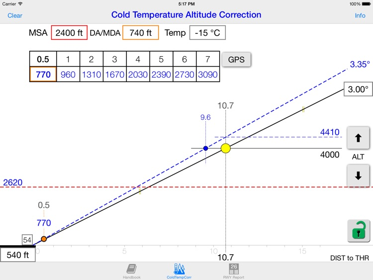 Cold WXR Altitude Correction screenshot-0