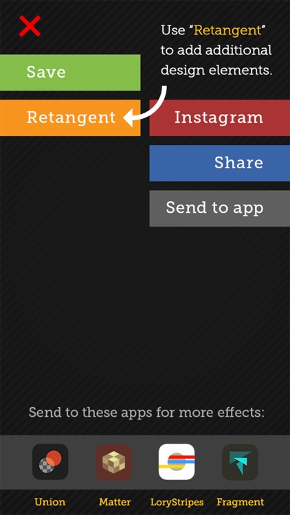 Tangent - Add Geometric Shape, Pattern, Texture, and Frame Overlays and Effects to Your Photos screenshot-4