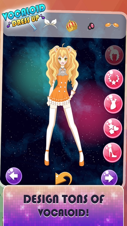 Dress up Vocaloid girls Edition: The Hatsune miku and rika and Rin Tokyo 7th and make up games screenshot-3