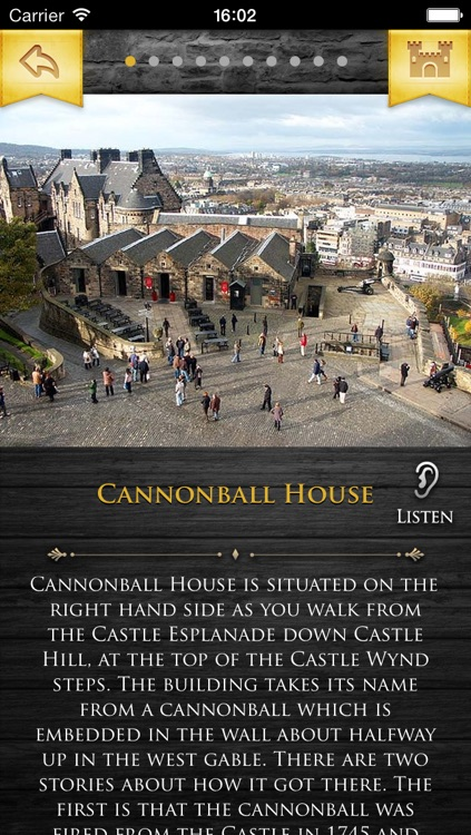 Edinburgh Castle Guide with Audio screenshot-3