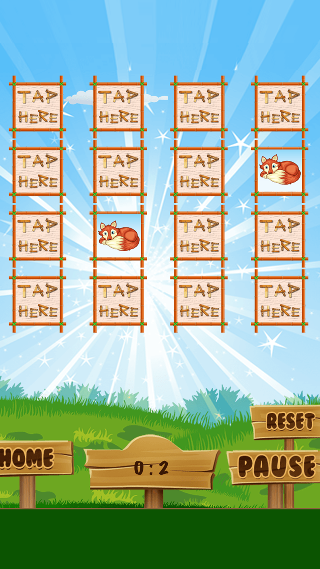 A Matching Game for Children: Learning with animals of the forest screenshot two