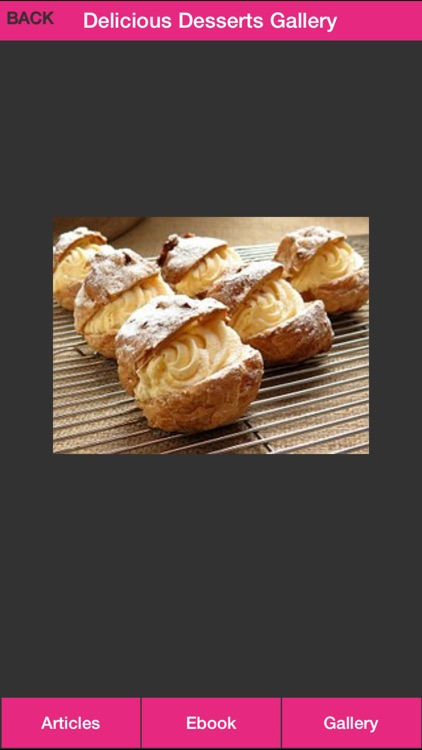 Delicious Desserts Plus - Discover A Lot Of Delicious Desserts Recipes! screenshot-3