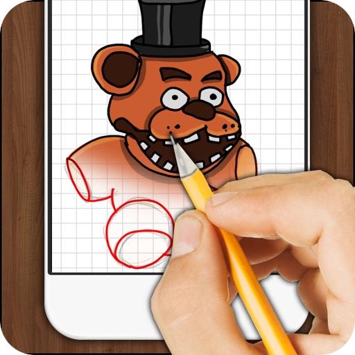 Учимся рисовать Freddy