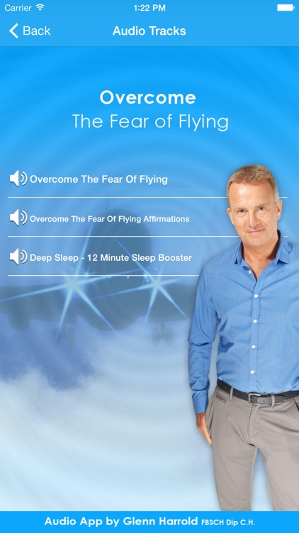 Overcome The Fear of Flying by Glenn Harrold