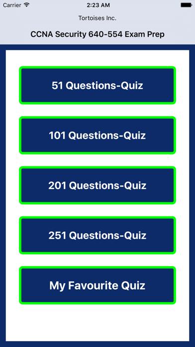 CCNA Security 640-554 Quiz screenshot one