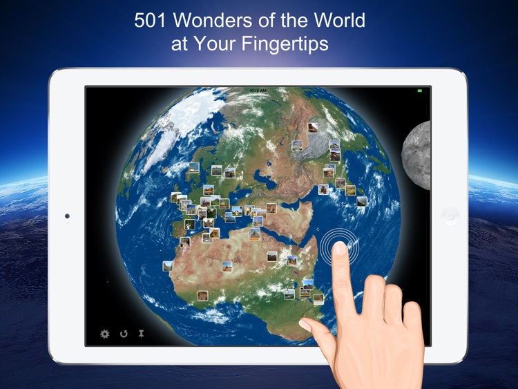 Earth 3D - 501 Wonders of the World