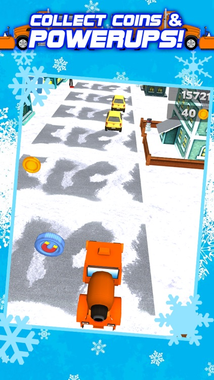 3D Snowplow City Racing and Driving Game with Speed Simulation by Best Games FREE screenshot-3