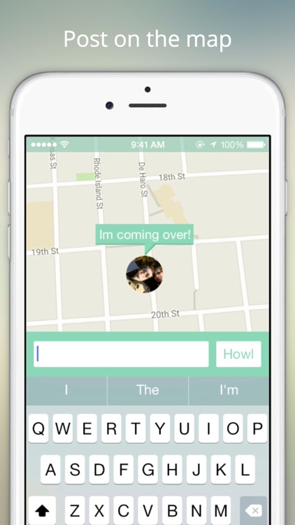 Howler - Locate friends on the map