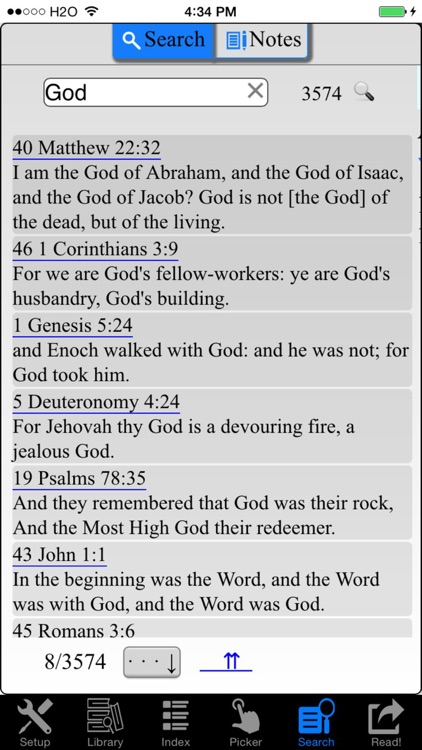 Holy Bible ASV (America Standard Version) screenshot-4