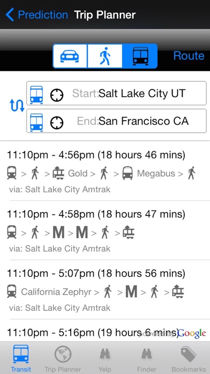 My Next Bus UTA Edition Pro - Public Transportation Directions and Trip Planner screenshot-3
