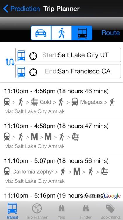My Next Bus UTA Edition Pro - Public Transportation Directions and Trip Planner screenshot-3