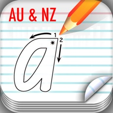Activities of School Fonts - Learn to write (AU/NZ)