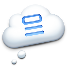 Ícone do app NoteAway  —  Your Thoughts in the Cloud
