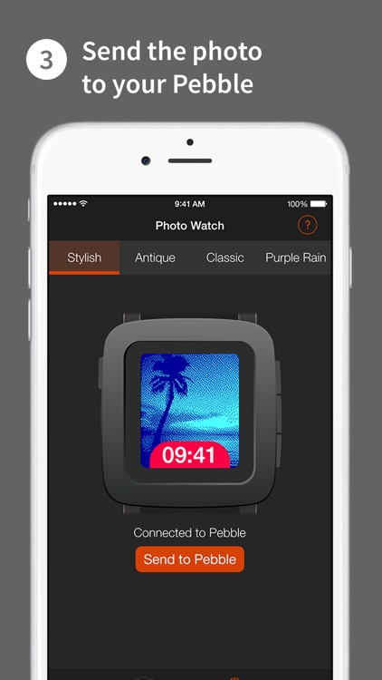 Photo Watch — Use a photo as a Pebble watchface screenshot-3