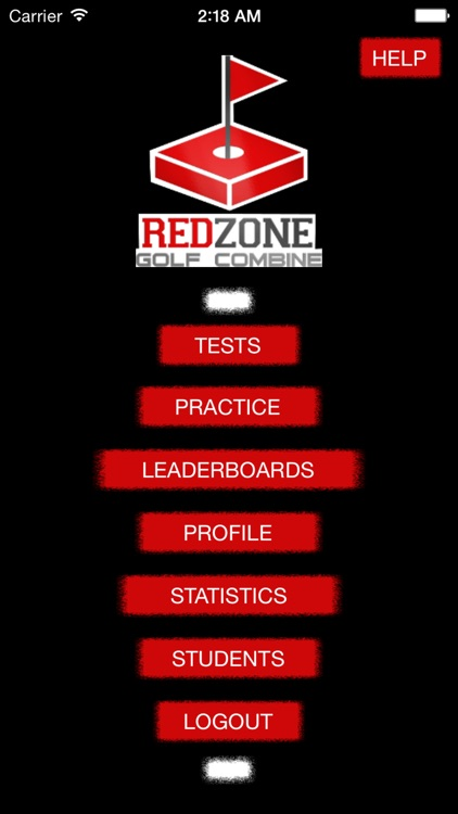 Red Zone Golf Combine