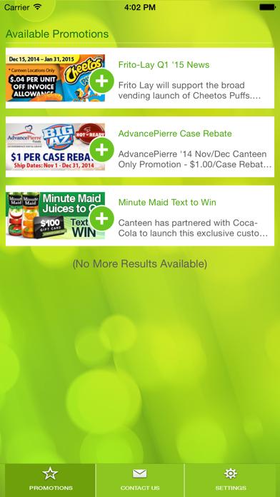 Canteen Mobile DirectScreenshot of 3