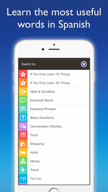 Spanish by Nemo – Free Language Learning App for iPhone and iPad screenshot-4