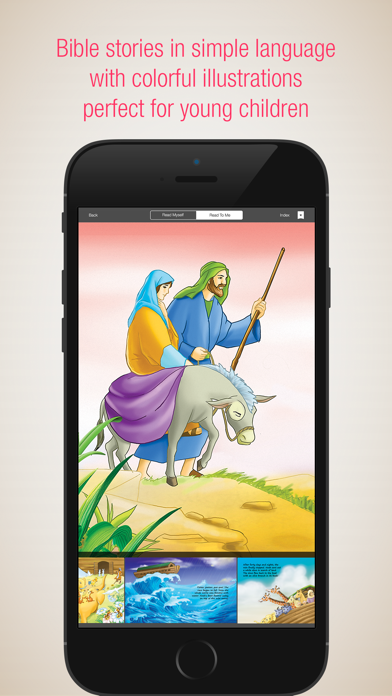 Bible People - 24 Storybooks and Audiobooks about Famous People of the BibleScreenshot of 3