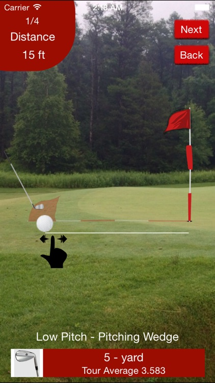 Red Zone Golf Combine screenshot-4