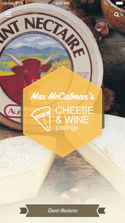 Max McCalman's Cheese & Wine Pairing App screenshot-0
