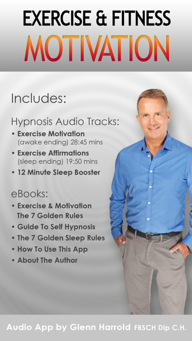 Exercise Fitness Hypnosis Motivation By Glenn Harrold review screenshots