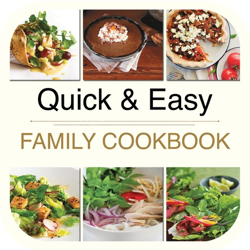Quick & Easy Family Cookbook for iPad