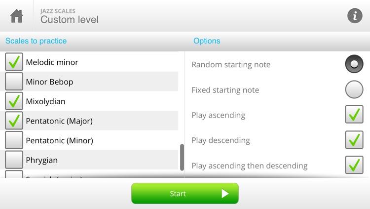 Auralia Jazz Scales screenshot-4