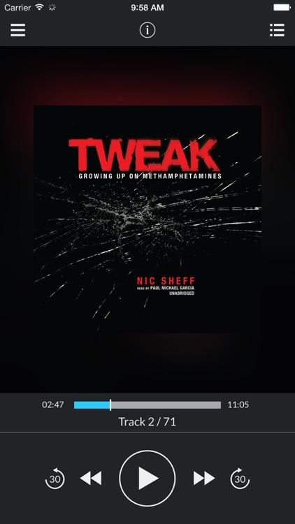 Tweak: Growing Up on Methamphetamines (by Nic Sheff) (UNABRIDGED AUDIOBOOK)