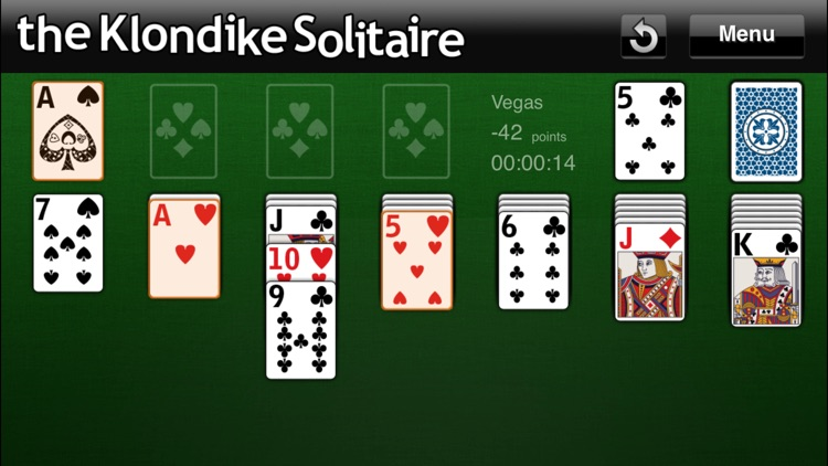 The Klondike Solitaire screenshot-3
