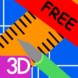 Blueprints 3D App Free - Create diagrams, drafts and layouts for your house (floor, furniture, garage, kitchen) and for home improvements