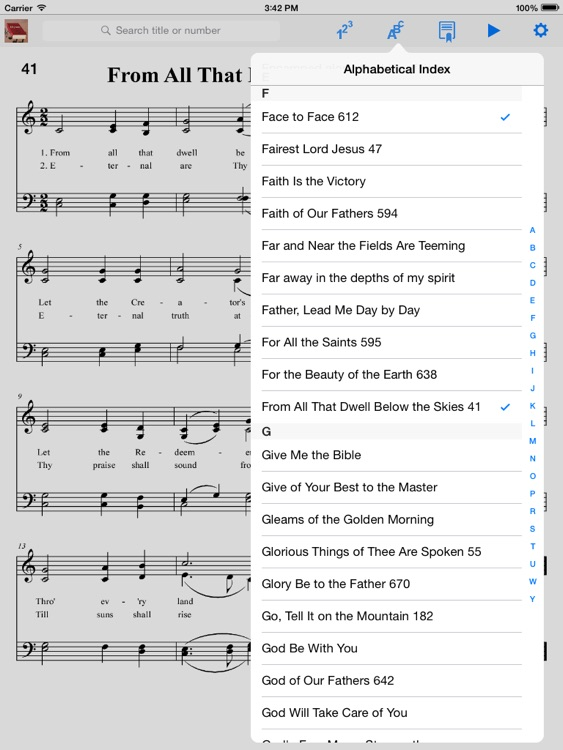 Hymnal Baptist-PD screenshot-2